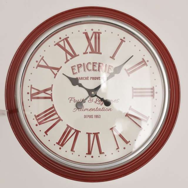 Horloge Cuisine Style Campagne Chic