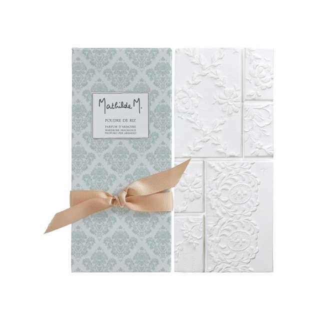 Parfum d'armoire Poudre de riz Mathilde M