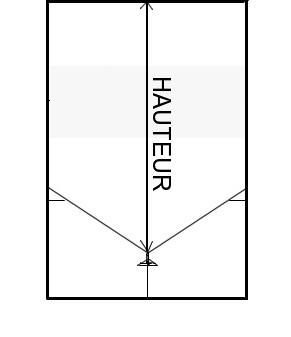 hauteur de vos rideaux sur-mesure