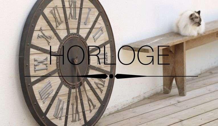 Horloge Déco Cosy