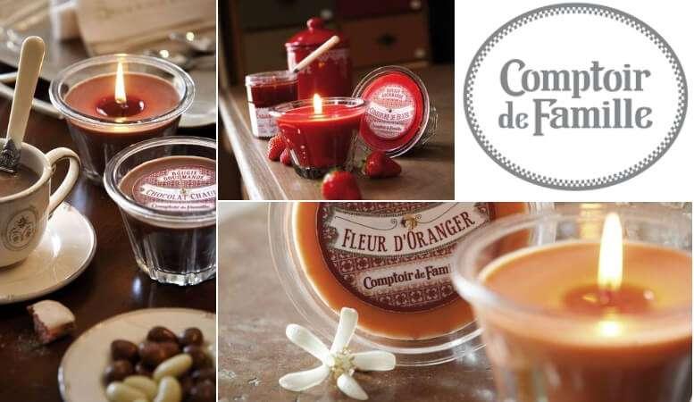 Vente en ligne Bougie Comptoir de Famille dans la boutique CosyDéco